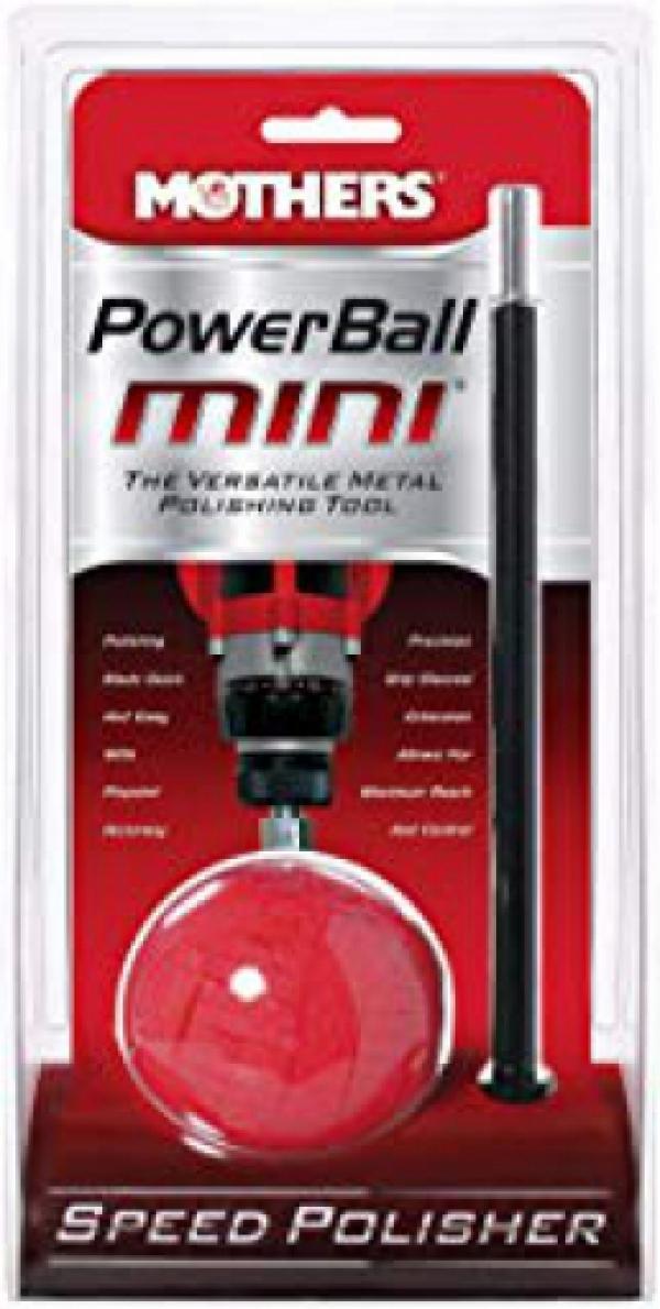 Mothers 05141-6 PowerBall Mini Metal Polishing Tool,